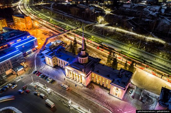 Petrozavodsk, Russia - the view from above, photo 4