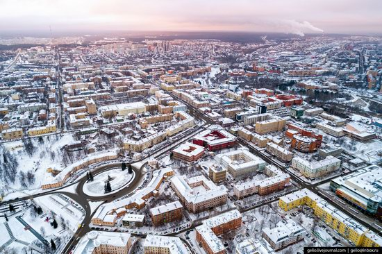 Petrozavodsk, Russia - the view from above, photo 5