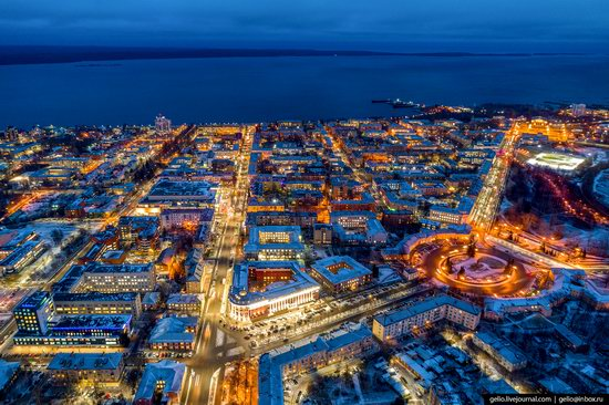 Petrozavodsk, Russia - the view from above, photo 6