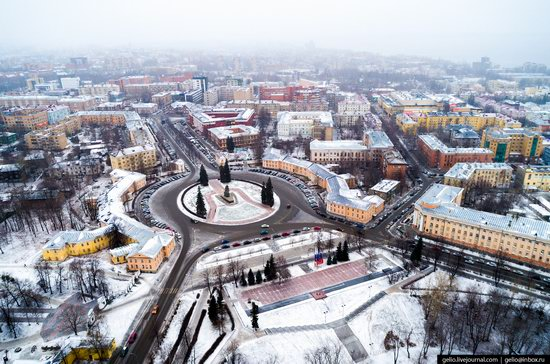 Petrozavodsk, Russia - the view from above, photo 8