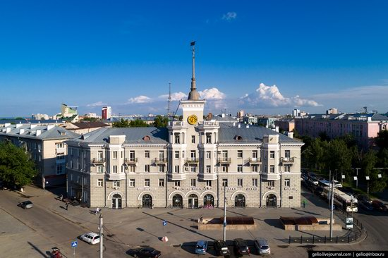 Barnaul, Russia - the view from above, photo 10