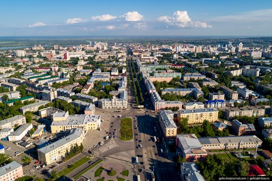 Barnaul, Russia - the view from above, photo 11