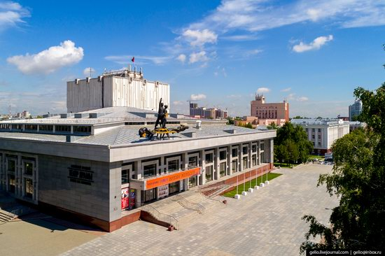 Barnaul, Russia - the view from above, photo 12
