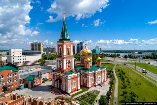 Barnaul, Russia - the view from above, photo 13