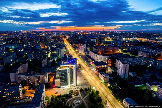 Barnaul, Russia - the view from above, photo 14
