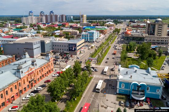 Barnaul, Russia - the view from above, photo 15