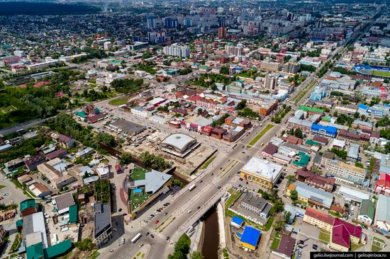 Barnaul, Russia - the view from above, photo 17
