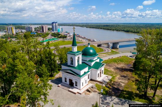 Barnaul, Russia - the view from above, photo 18