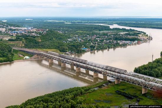 Barnaul, Russia - the view from above, photo 20