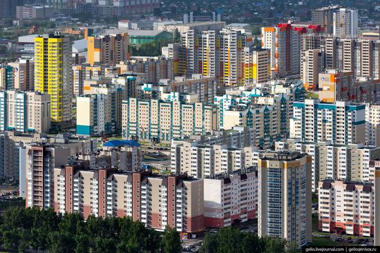 Barnaul, Russia - the view from above, photo 22
