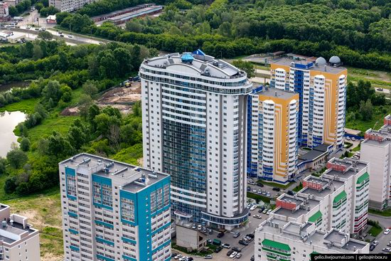 Barnaul, Russia - the view from above, photo 23