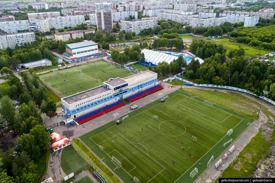Barnaul, Russia - the view from above, photo 25