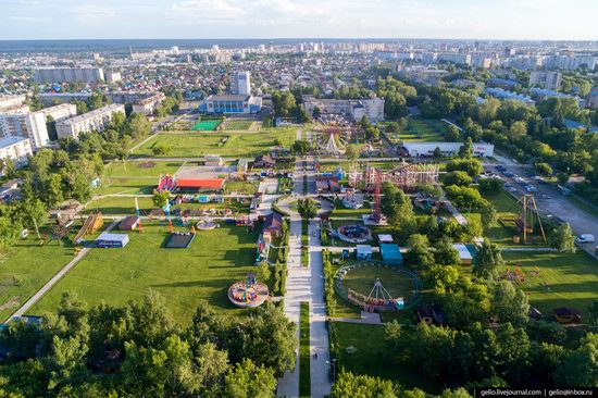 Barnaul, Russia - the view from above, photo 26