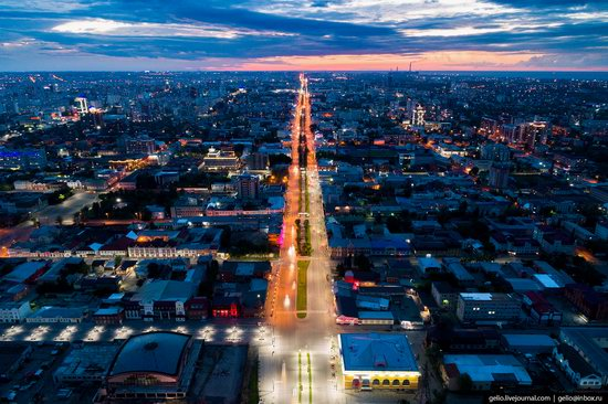 Barnaul, Russia - the view from above, photo 29
