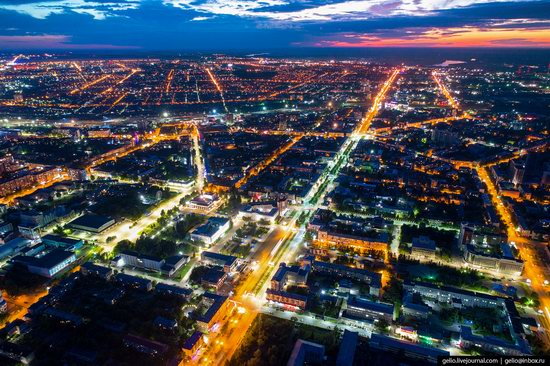 Barnaul, Russia - the view from above, photo 30