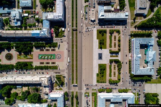 Barnaul, Russia - the view from above, photo 5