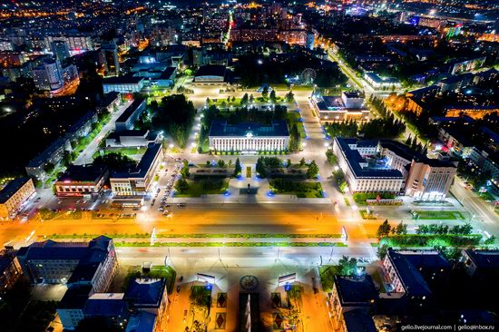 Barnaul, Russia - the view from above, photo 6