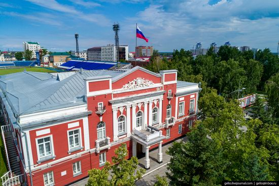 Barnaul, Russia - the view from above, photo 8