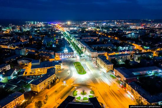 Barnaul, Russia - the view from above, photo 9