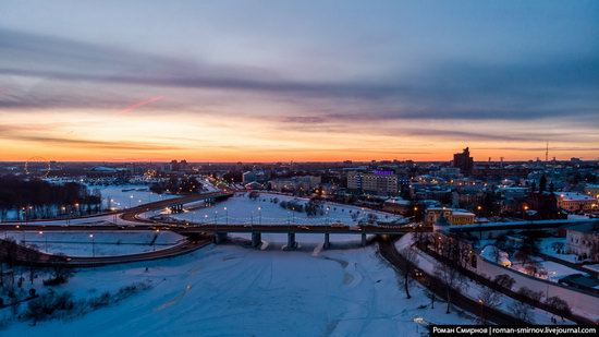 Evening in snow-covered Yaroslavl, Russia, photo 12