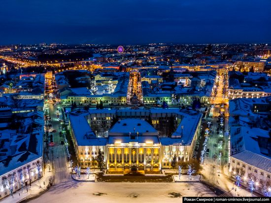 Evening in snow-covered Yaroslavl, Russia, photo 18
