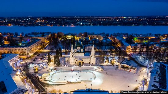 Evening in snow-covered Yaroslavl, Russia, photo 19