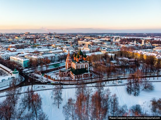 Evening in snow-covered Yaroslavl, Russia, photo 3
