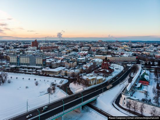 Evening in snow-covered Yaroslavl, Russia, photo 5