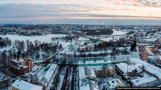 Evening in snow-covered Yaroslavl, Russia, photo 9