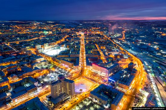 Murmansk, Russia - the view from above, photo 1
