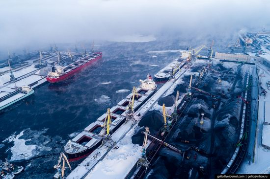 Murmansk, Russia - the view from above, photo 12