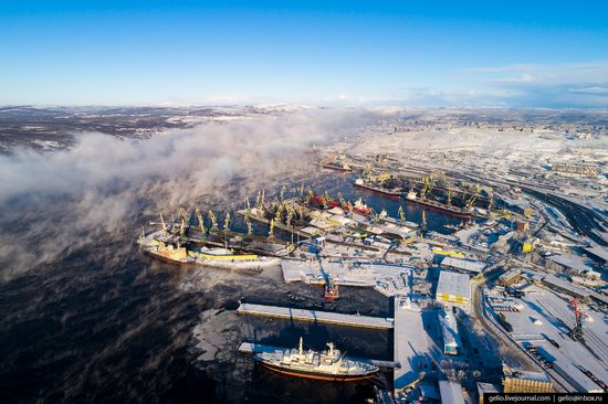 Murmansk, Russia - the view from above, photo 13