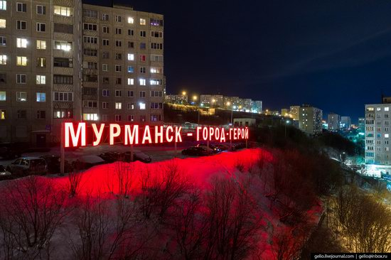 Murmansk, Russia - the view from above, photo 17