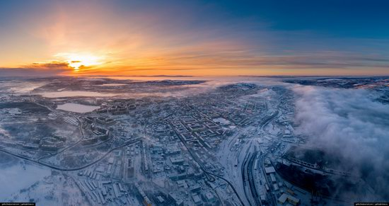 Murmansk, Russia - the view from above, photo 18