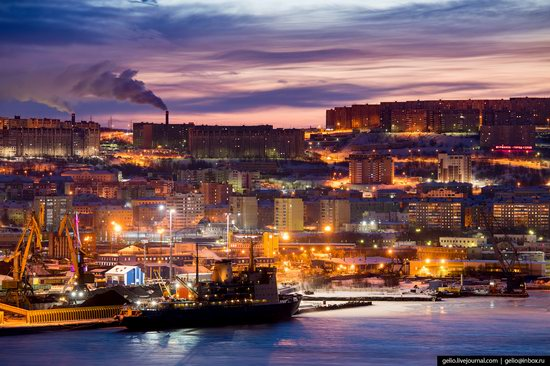 Murmansk, Russia - the view from above, photo 2