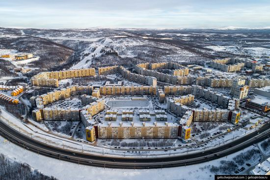 Murmansk, Russia - the view from above, photo 21