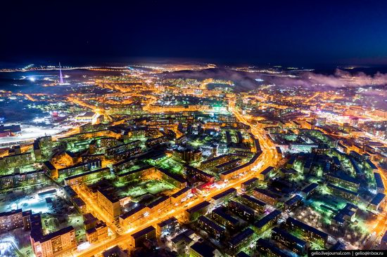 Murmansk, Russia - the view from above, photo 24