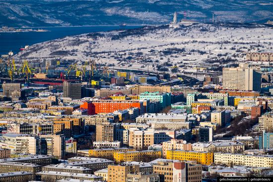 Murmansk, Russia - the view from above, photo 25