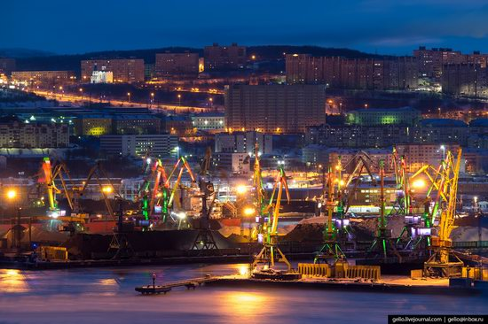 Murmansk, Russia - the view from above, photo 26