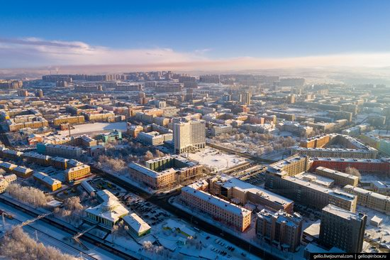 Murmansk, Russia - the view from above, photo 3