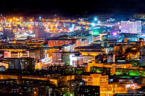 Murmansk, Russia - the view from above, photo 4