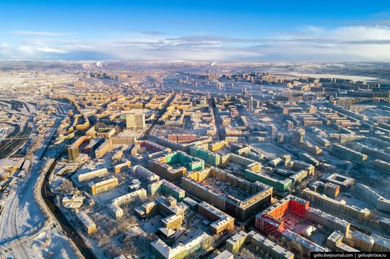 Murmansk, Russia - the view from above, photo 5