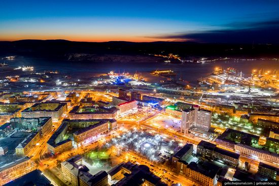 Murmansk, Russia - the view from above, photo 6