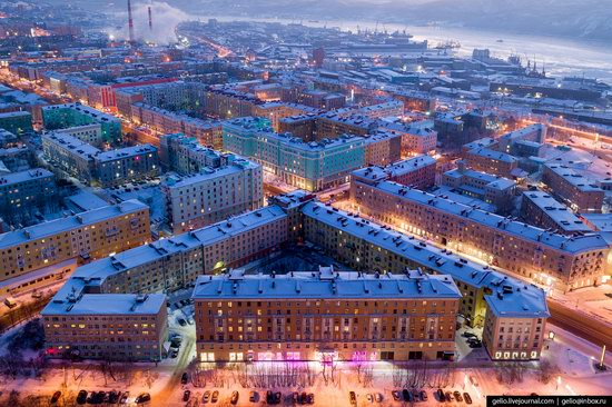 Murmansk, Russia - the view from above, photo 9