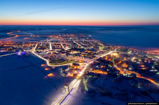 Salekhard, Russia - the view from above, photo 1