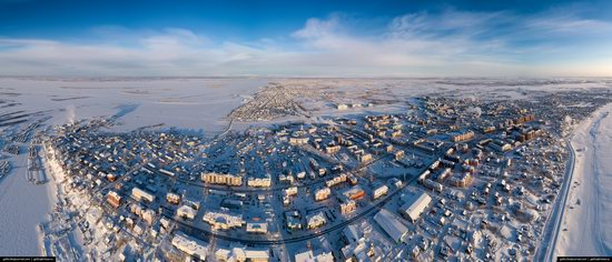 Salekhard, Russia - the view from above, photo 11