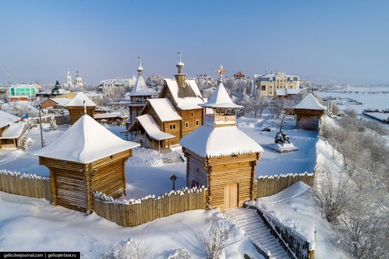 Salekhard, Russia - the view from above, photo 12
