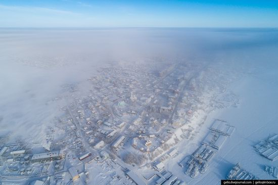 Salekhard, Russia - the view from above, photo 13