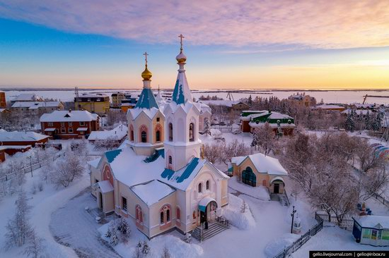 Salekhard, Russia - the view from above, photo 14