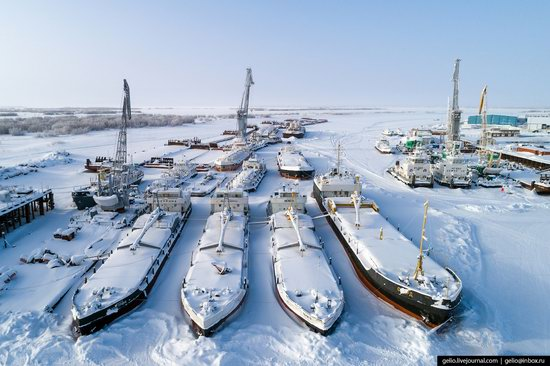 Salekhard, Russia - the view from above, photo 15